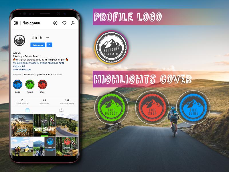 Réseau social- Création de page pro Instagram