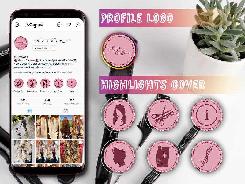 Réseau social- Création de visuels sur Instagram