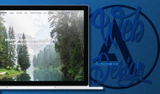 Réalisation de site e-commerce à Sallanches