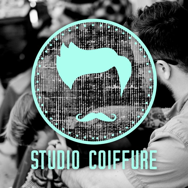 Logo homme Studio Coiffure