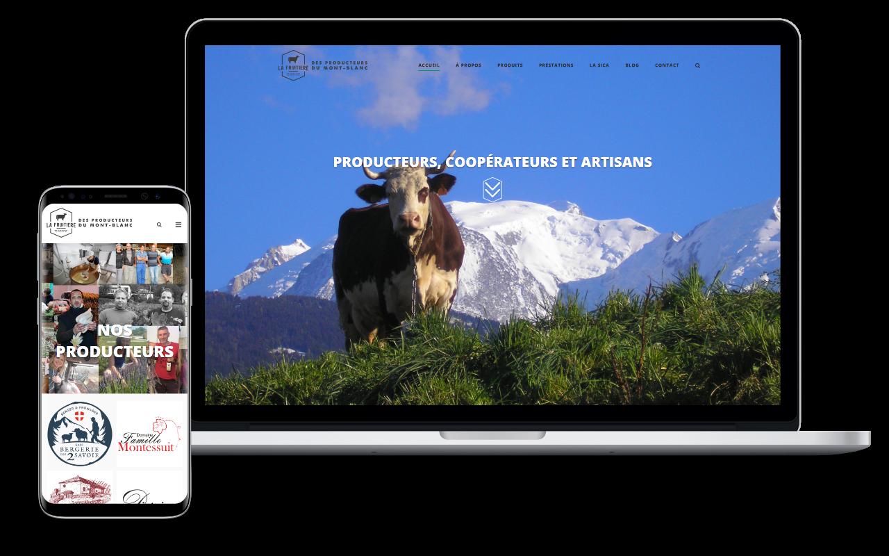 Site Vitrine - Création de site multi pages
