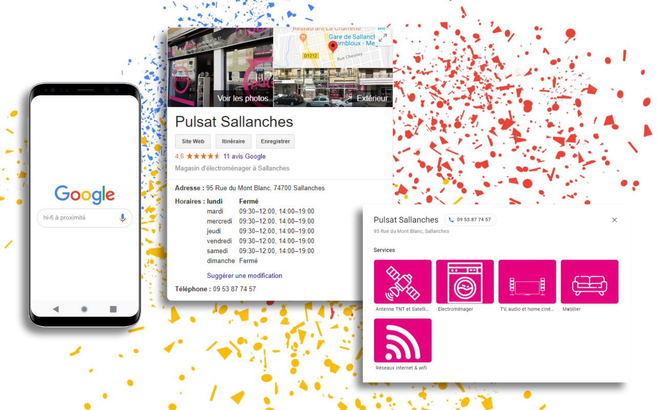 Réseau Social - Google Maps et Google MyBusiness