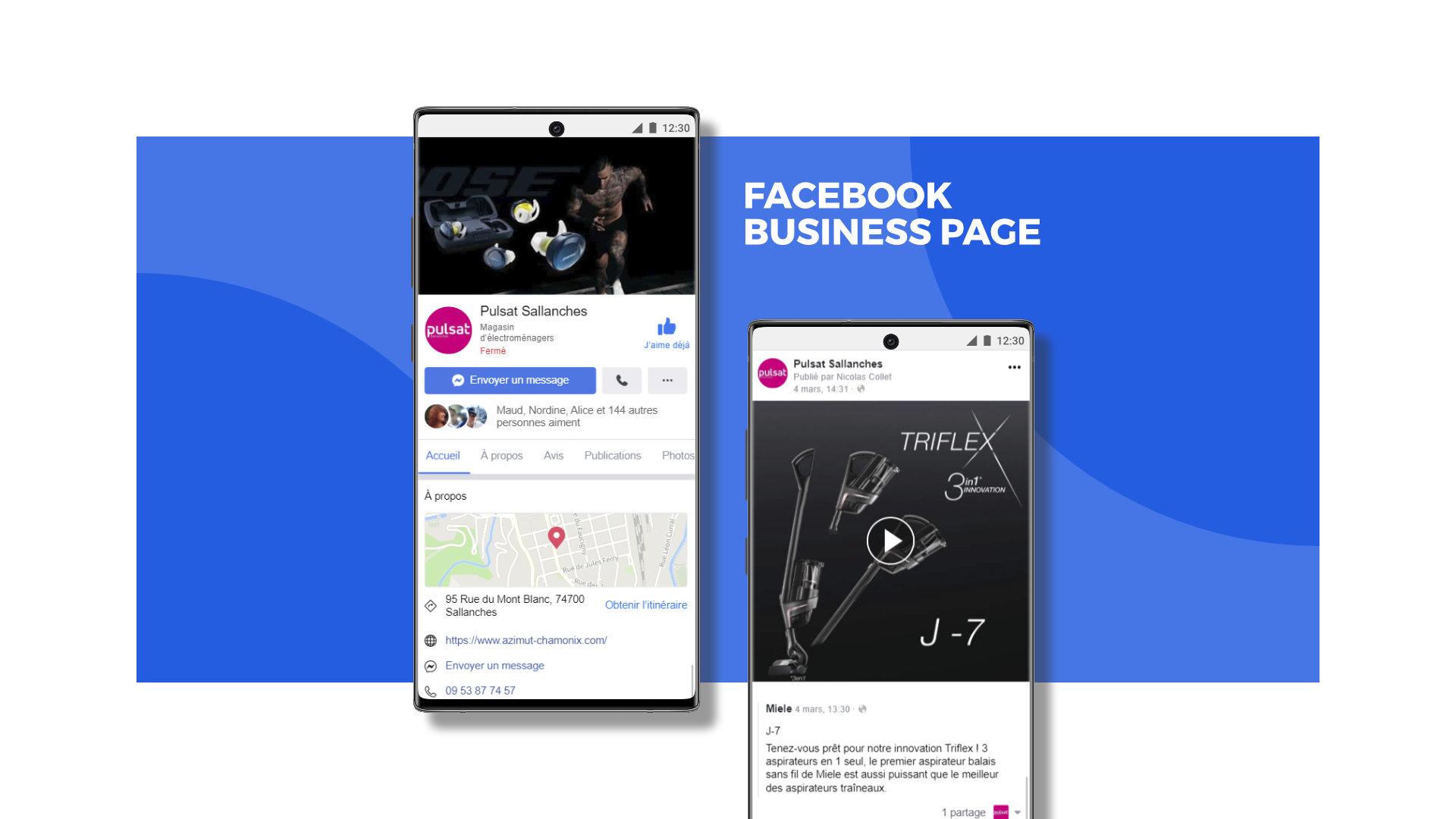 Pulsat Facebook profil