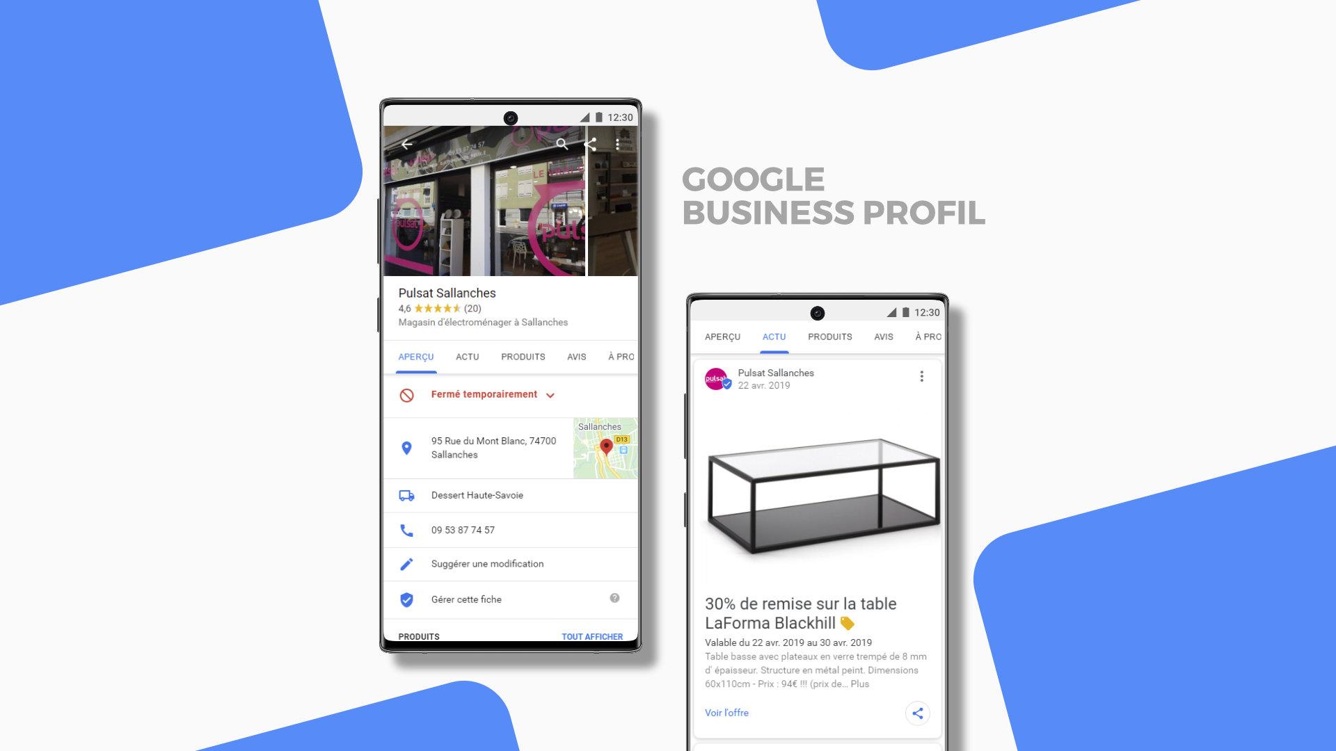 Pulsat Google profil