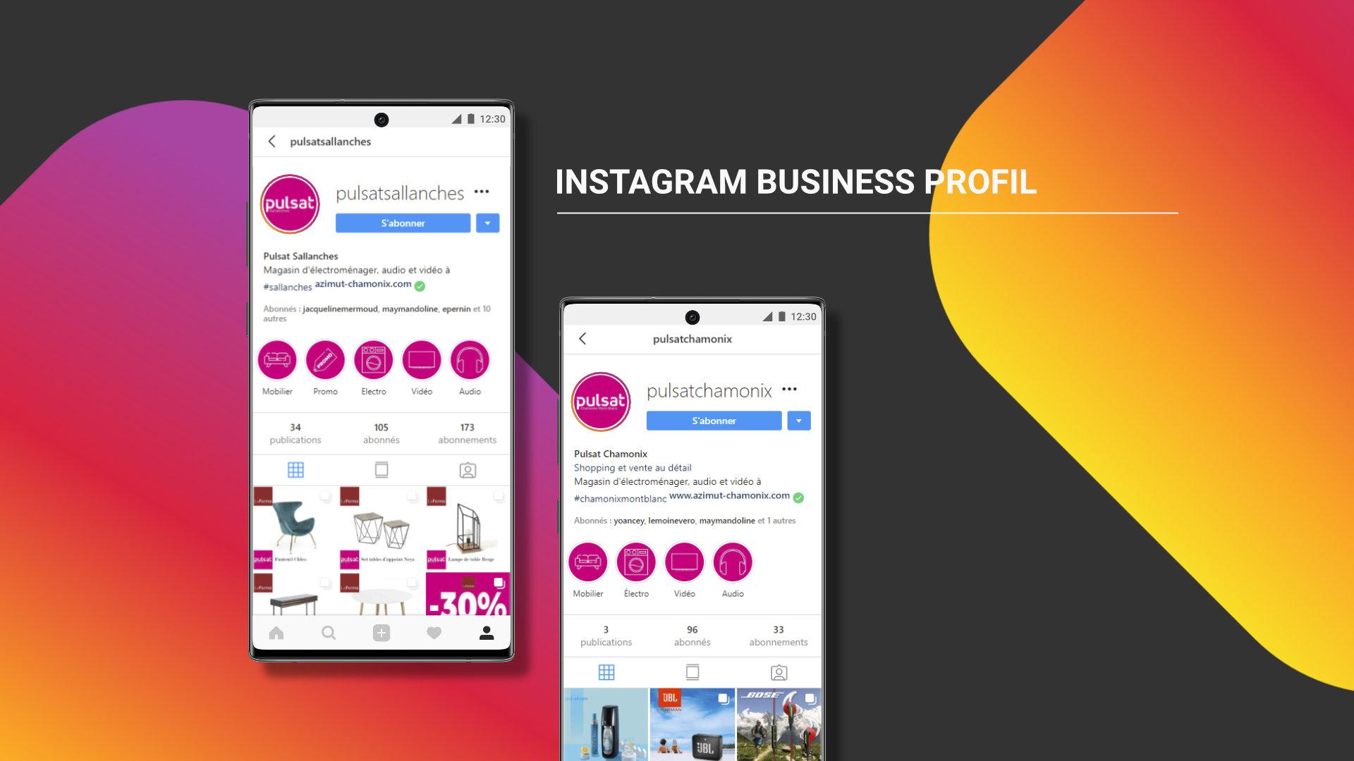 Pulsat Instagram profil