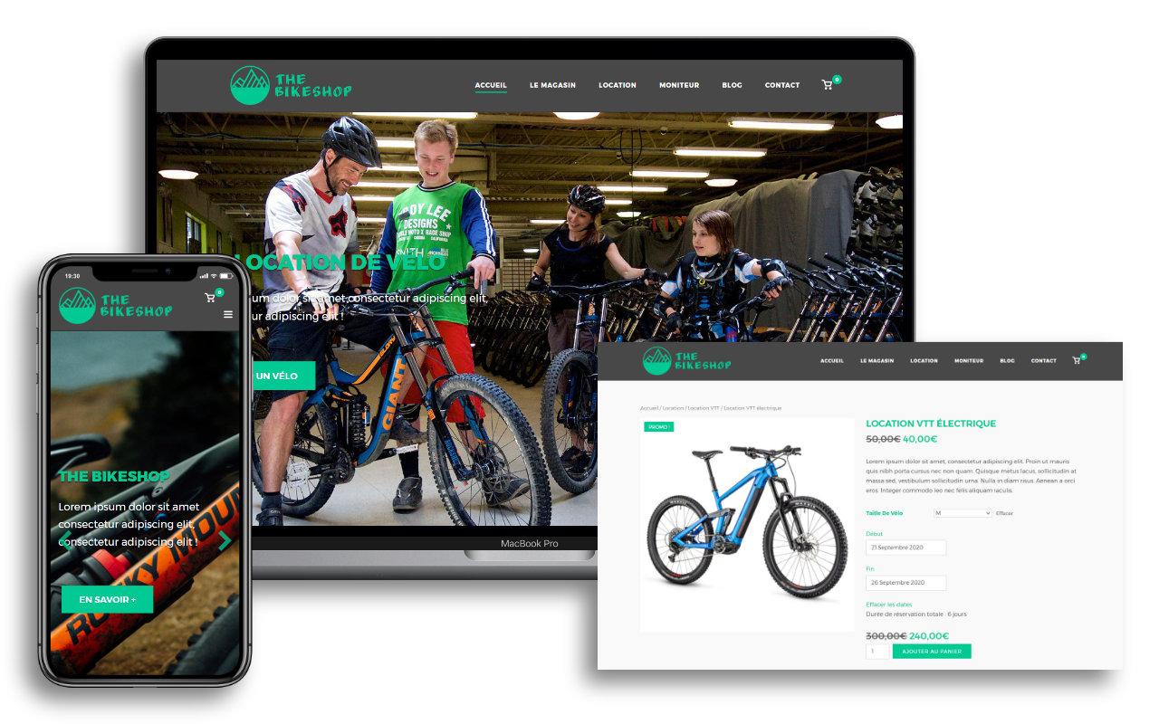 Site E-commerce - Site de réservation en ligne
